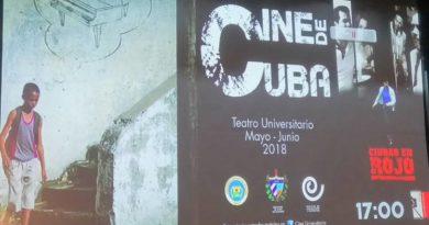 Abre muestra de cine cubano en Universidad Central de Ecuador