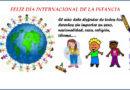 1ro de junio Día Internacional de la infancia