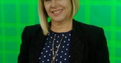 Marta Yabor, presentadora de Televisión