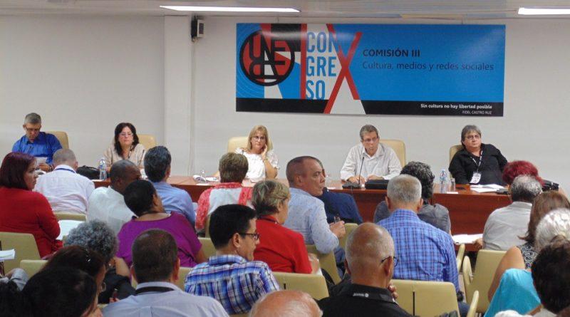 Comisión III Cultura, Medios y Redes Sociales, IX Congreso de la Uneac