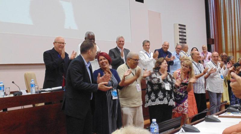 Nueva presidencia de la Uneac a partir del IX Congreso