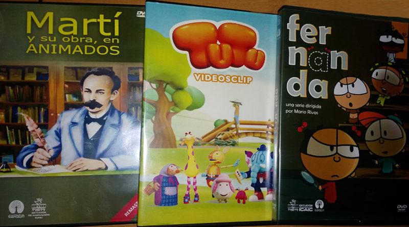 Novedades de la EGREM y DVD animados