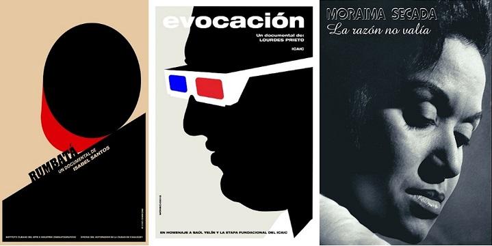 Carteles documentales Icaic por la Jornada de la Cultura Cubana 2019