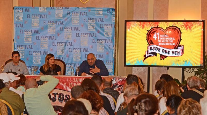 Conferencia de prensa del 41 Festival del Nuevo Cine Latinoamericano