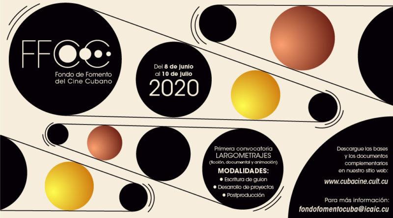 1ra. Convocatoria Fondo de Fomento del Cine Cubano 2020