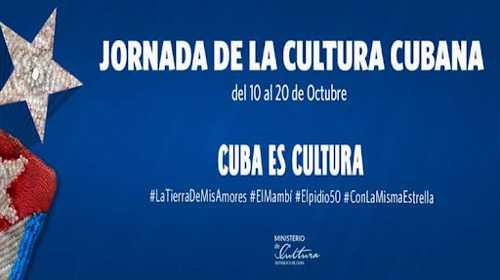 Jornada por la Cultura Cubana