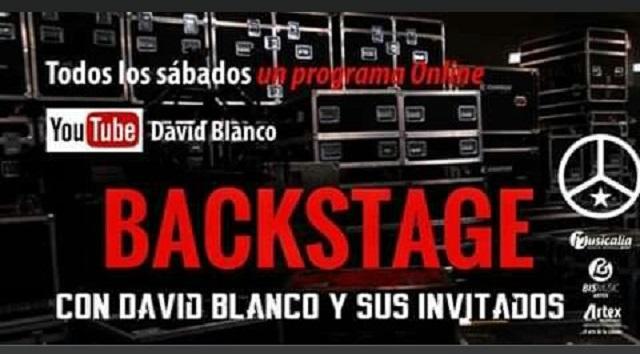 Backstage, David Blanco