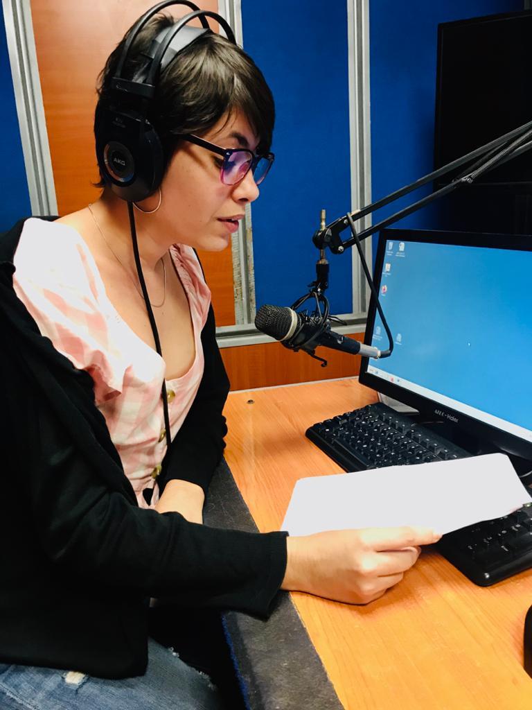 Milene Medina, locutora