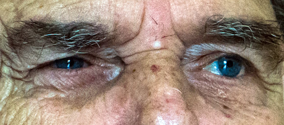 Los ojos azules de Manuel Porto