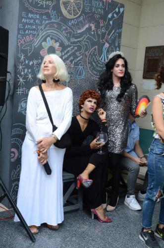 Performance de jóvenes actores de Teatro El Público
